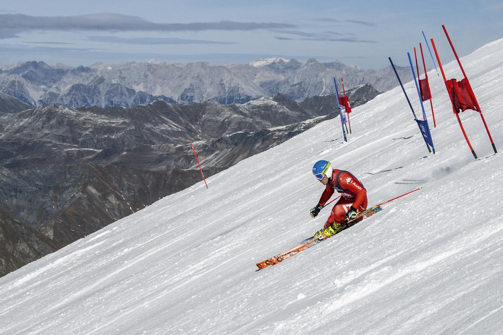 Italienisches Nationalteam beim Training am Hintertuxer Gletscher