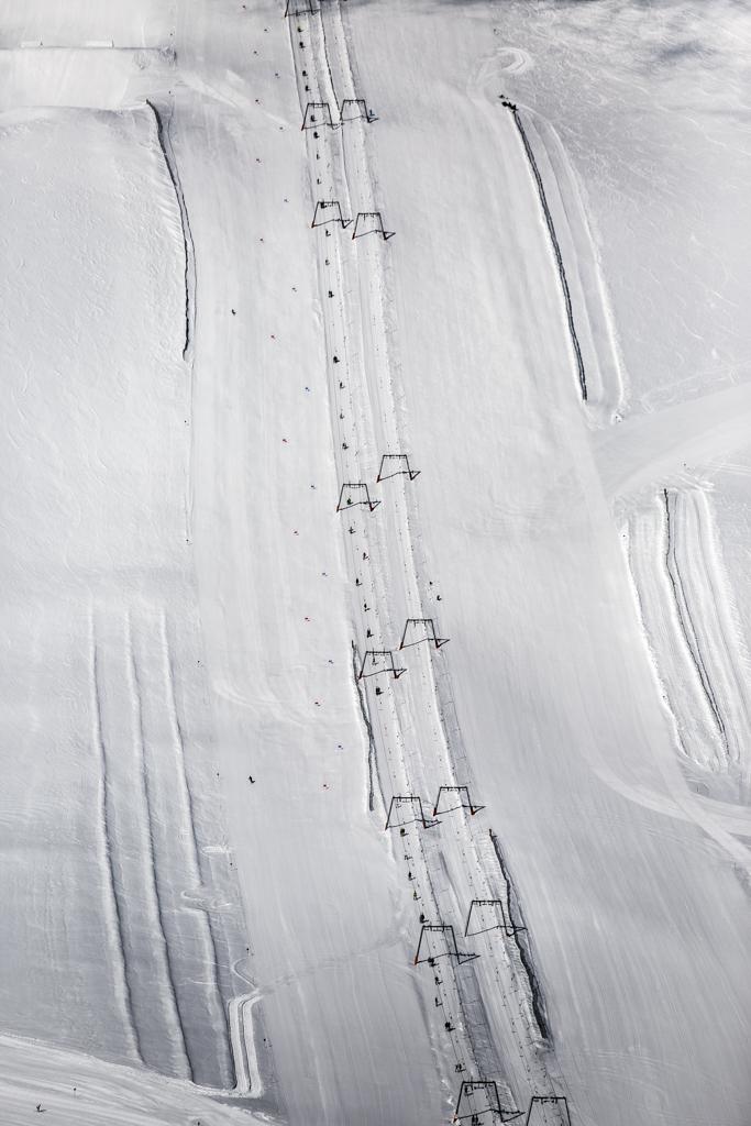Lifte am Hintertuxer Gletscher