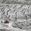 Pistenbully am Hintertuxer Gletscher im Sommer