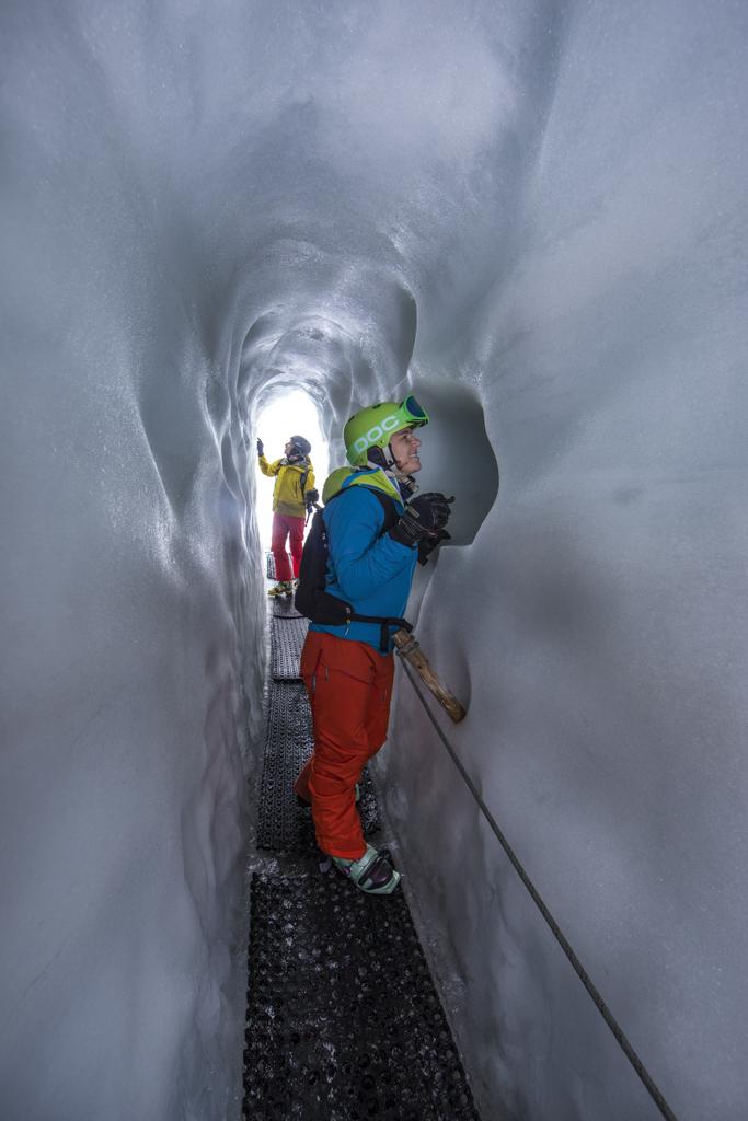 Natur Eispalast, Hintertuxer Gletscher