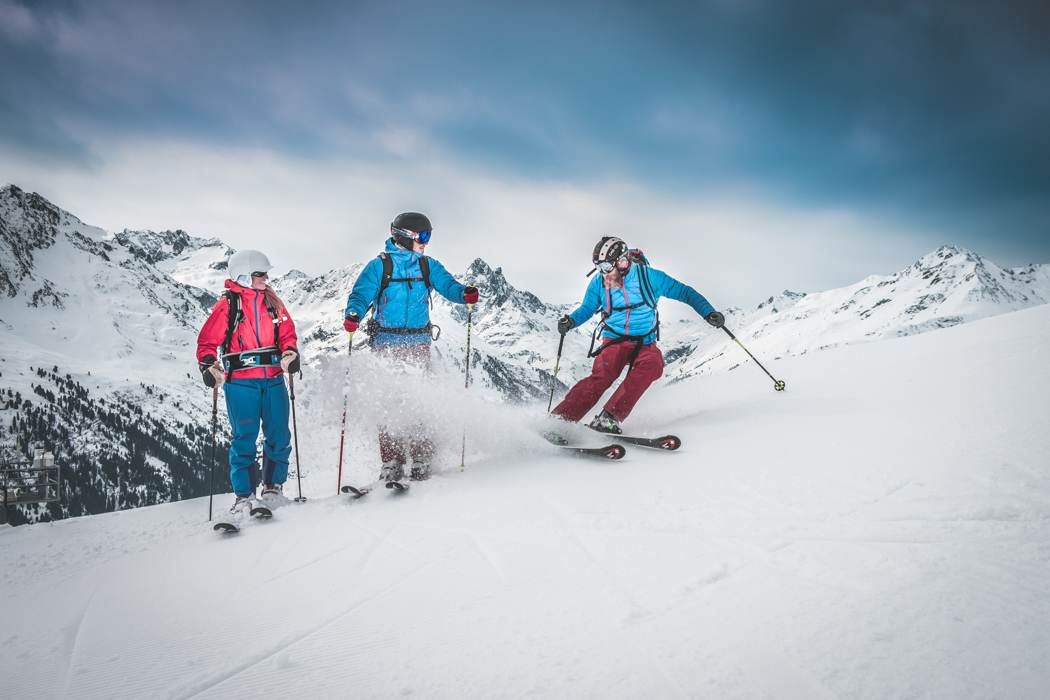 Model Shoot Winter Life-Style in St. Anton am Arlberg